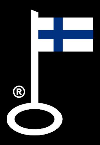 Avainlippu merkki kertoo suomalaisesta palvelusta